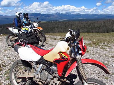Pecos-Cow Creek-Elk Mountain DS Ride  8-27-18