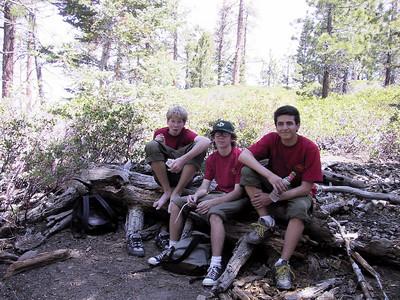 5/31/20034 - Jenks Lake Fishing & Popout Hill Hiking