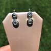 .85ctw Antique Table Cut Diamond Double Drop Earrings 5