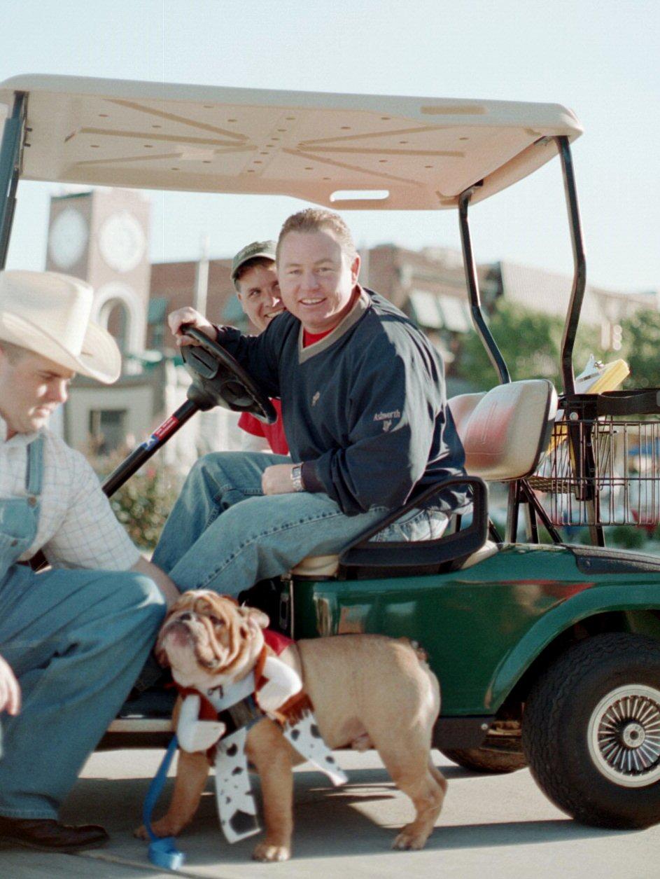 Brandon and the mighty Dog Whitesboro Peanut Festival, 2004