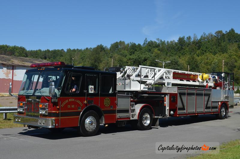 Shenandoah (Rescue Hook & Ladder Co. 1) Ladder 745: 1995 Simon-Duplex/LTI 100' (X-Salt Lake City, UT)