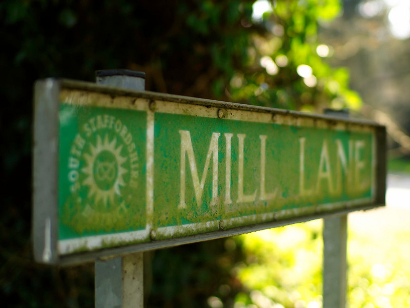 Mill Lane by StuMac1985 Shot with Olympus E1