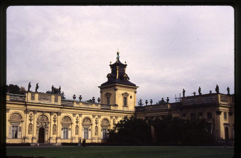 Polish Palace in Warsaw
