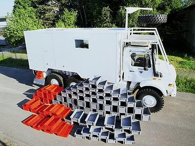 Clever vehicle organization, storage