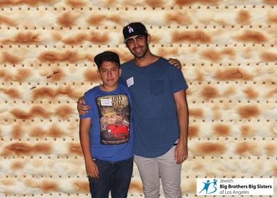 Jewish Big Brothers Big Sisters Seder Event
