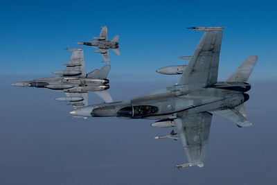 Mike Reyno, CF118 Hornet, RCAF