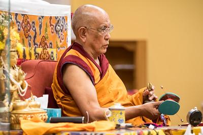 Guru Puja with Tsok  2017-07-23