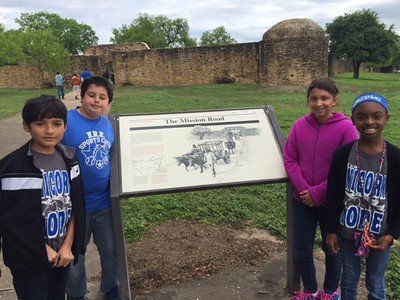 2016 Field Trip to Alamo and Missions in San Antonio