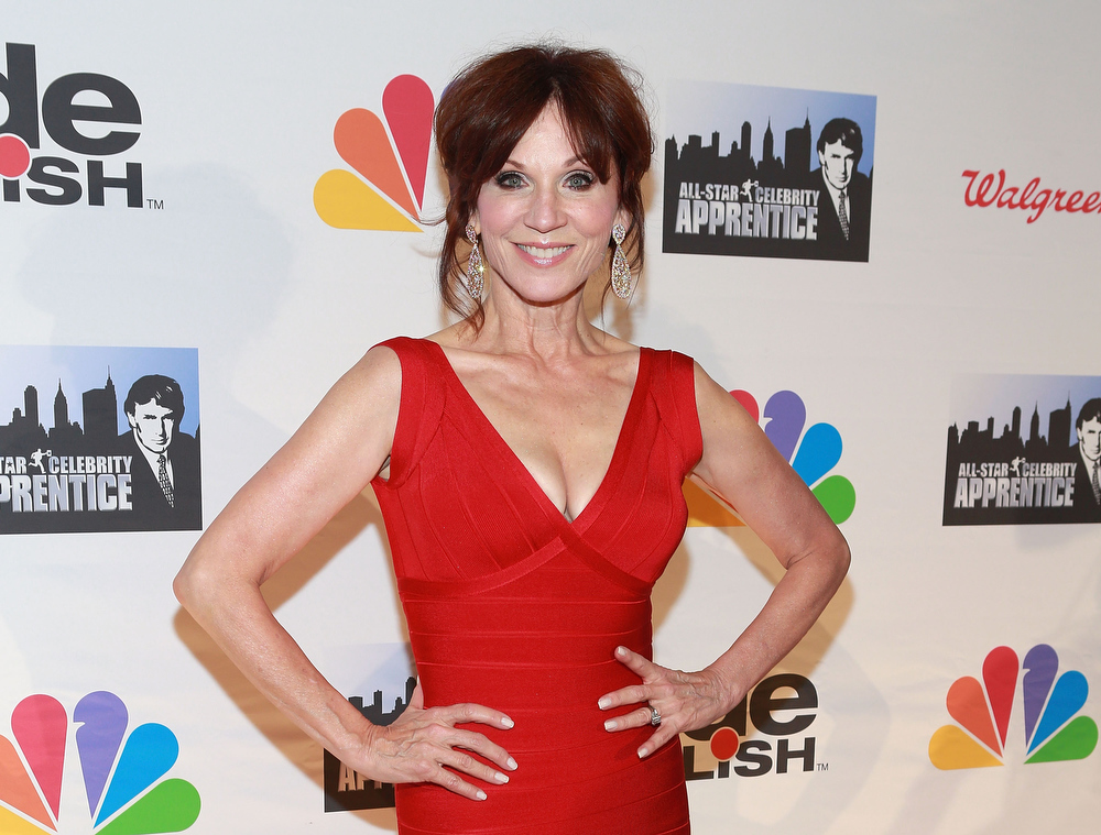 ". Actress Marilu Henner attends ""All Star Celebrity Apprentice\"" Finale at Cipriani 42nd Street on May 19, 2013 in New York City.  (Photo by Robin Marchant/Getty Images)"
