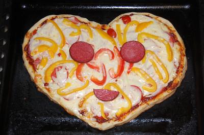 2012-09-03, Pizzas by Ilya and Olya