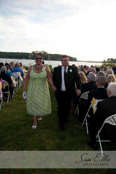 Kristin and Jason ceremony