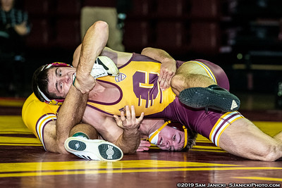 165-HWT - Central Michigan Maroon & Gold Intrasquad - 10-28-19