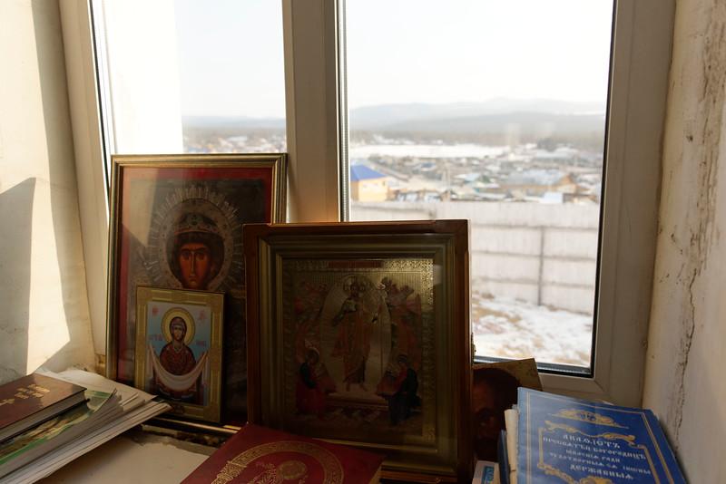Kuzhir Orthodox Church - winter life in a Wild East Siberian village