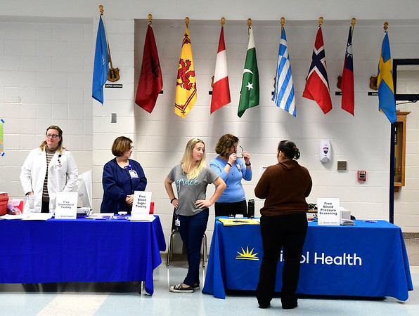 3/7/2020 Mike Orazzi   Staff The Central Connecticut Chambers of Commerce's Family Health and Wellness Expo held at Bristol Eastern High School on Saturday.