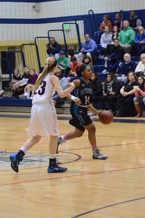 Varsity Girls Basketball Feb 9 vs Bel Air