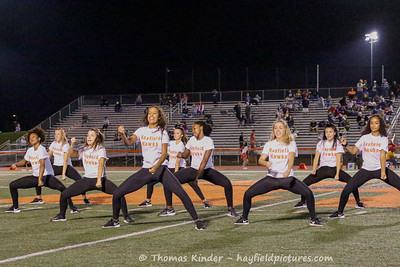 Dance Team at Lake Braddock Football Game 9/13/19