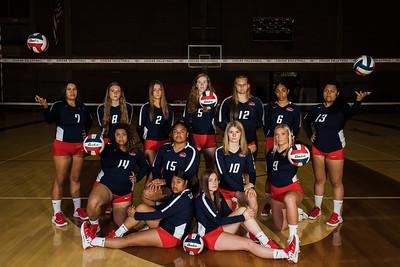 Volleyball team photos 2021