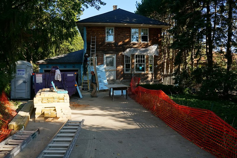 11913 Farmhouse Exterior Remodeling and Restoration