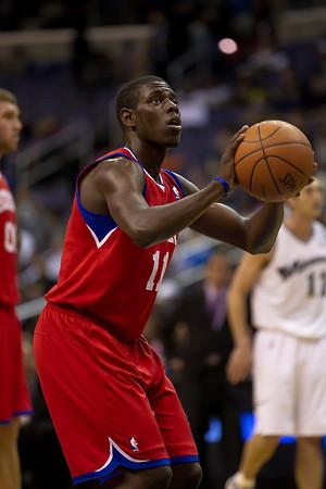 Washington Wizards vs. Philadelphia 76ers (11-23-10)