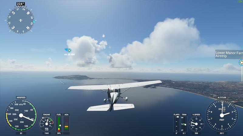 MSFS, Microsoft Flight Simulaor - Sun 23/08/2020@15:49