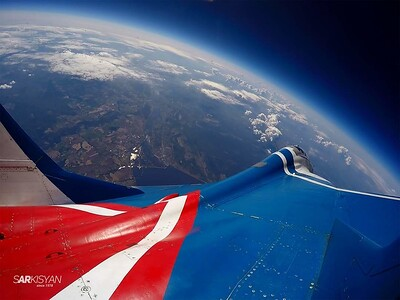 MiG-29 flights in the stratosphere ... H = 19 000 m