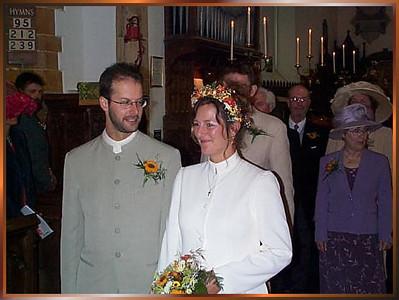2000 01 Kathy & Phill wedding