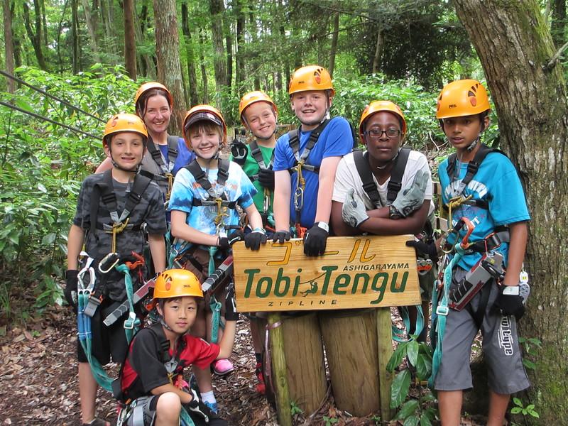 Photo: Tobi Tengu Staff Morning Group 2