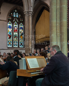 Sudbury Choral Society, Rehearsal April 2014