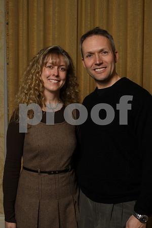 Hendricks Regional Health Columbia Club Party Couple  Photos
