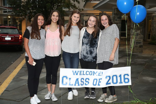 Fall Reunion for the Class of 2016