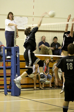 2009-04-16 Boy's Highschool JV Volleyball - Mt.Madonna at PCS