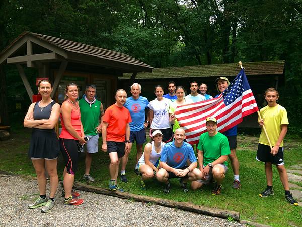 July 4th Friday Bonus Run - Mianus River Gorge