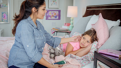 12-Home Child Illness ER bedroom