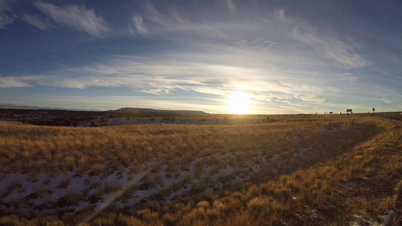 Wyoming Sunset Video
