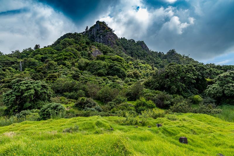 Blick auf den Mount Aubrey