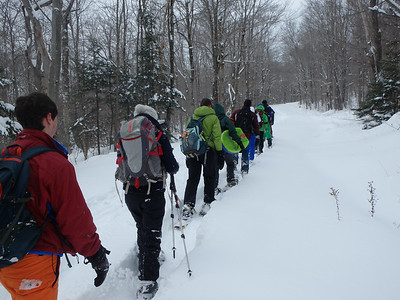 Moosilauke Hike/Sled 2/15/14