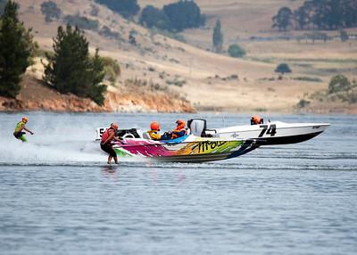 Water ski Racing