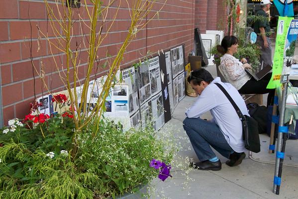 2015 Hiroshima Commemoration at Hinds Plaza