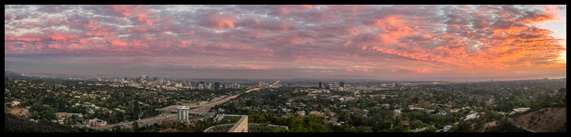 November 19 - Sunset from the West Pavilion, The Getty, Los Angeles.jpg