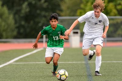 Tigard HS Boys JV Soccer vs Wilsonville