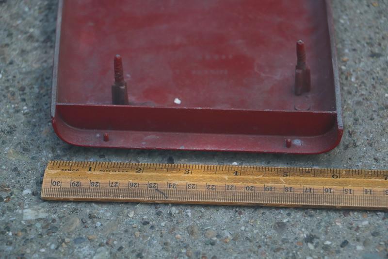 Underside of 1967 GS hood scoop