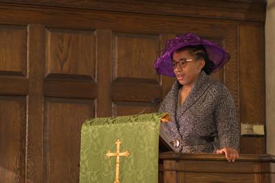 Black History Month Chapel