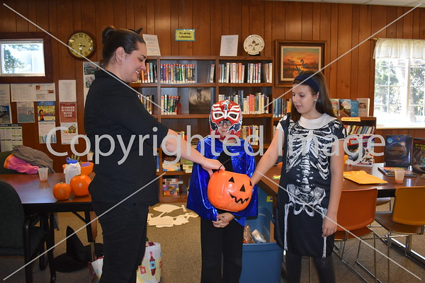 Deerfield Library Halloween Event