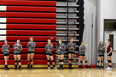 Girls Varsity Volleyball - 9/20/2016 Big Rapids (Parent's Night)