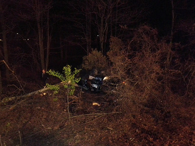 FOSTER TOWNSHIP INTERSTATE 81 MM 117 VEHICLE ACCIDENT PICTURE BY COALREGIONFIRE