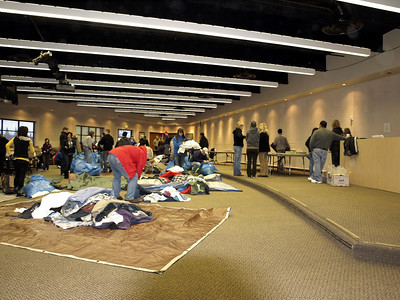 Homeless Outreach - January 2010