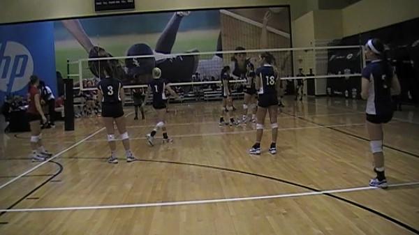 Disney Volleyball Showcase 2013