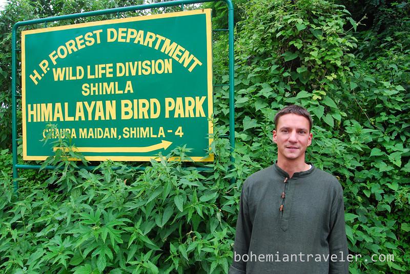 John at the Bird Park