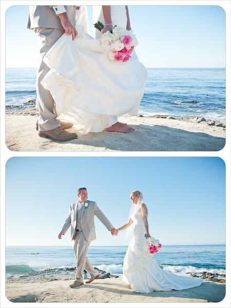 La Jolla Cove Wedding - Rachel McFarlin Photography-5356 walk on beach.jpg