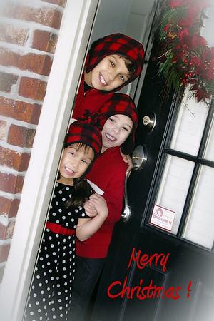 Jones Children Christmas